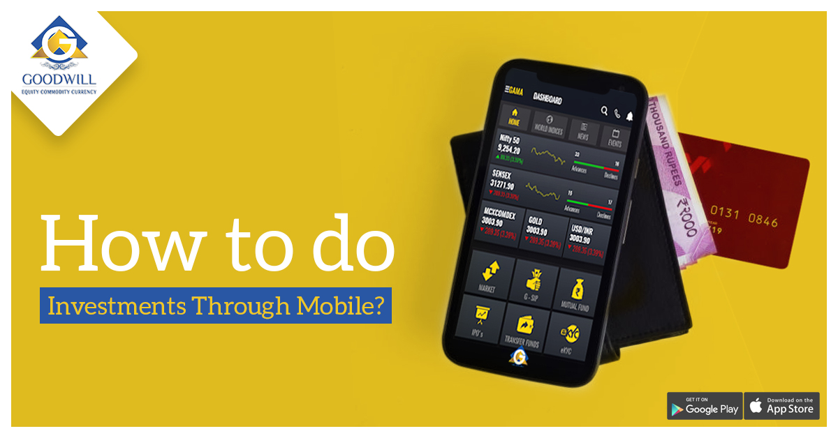 How to do investments through Mobile