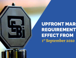 As per SEBI guidelines, Upfront Margin requirement with effect from 1st September 2020