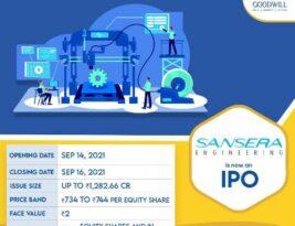 IPO : Sansera Engineering Limited
