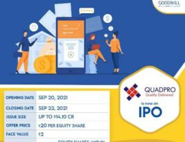 IPO : Quadpro ITeS Limited